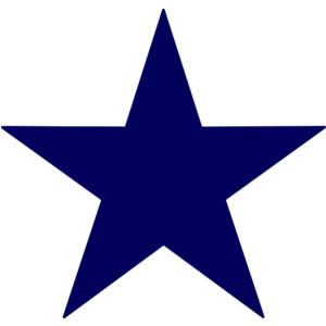 34+ Blue Star Clipart.