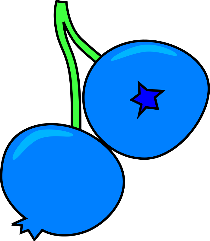 Free Clipart: Blueberry.