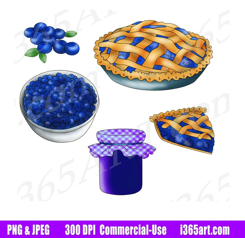 50% OFF Blueberry Clipart, Blueberry Clip Art, Blueberry Pie, Fruits,  Blueberry Jam, Digital Graphics, Scrapbooking, PNG, Commercial.
