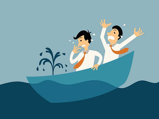 Best Sinking Ship Illustrations, Royalty.