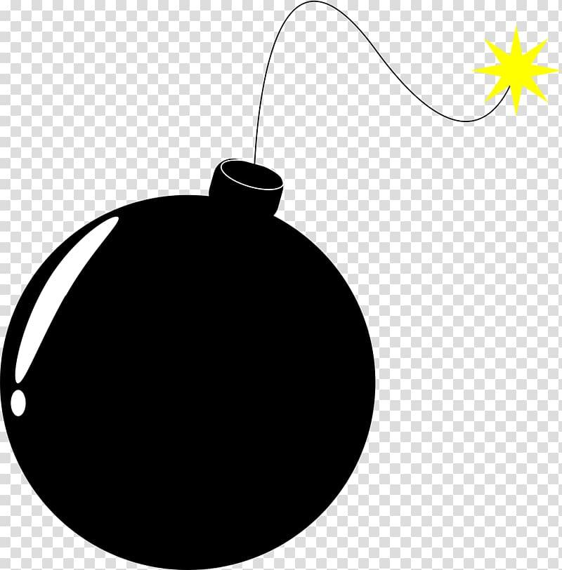 Black bomb art, Bomb , Bomb transparent background PNG clipart.