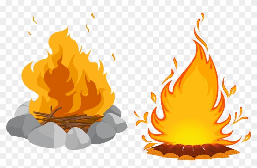 Bonfire Campfire Clip Art.