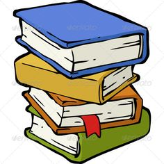 Stacks of books clipart 1 » Clipart Station.
