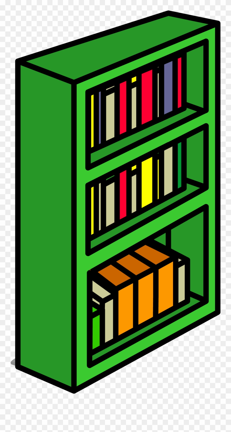 Green Bookcase Sprite 010.
