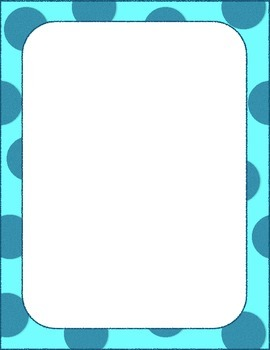 50 Colorful Borders + Frames Clipart.