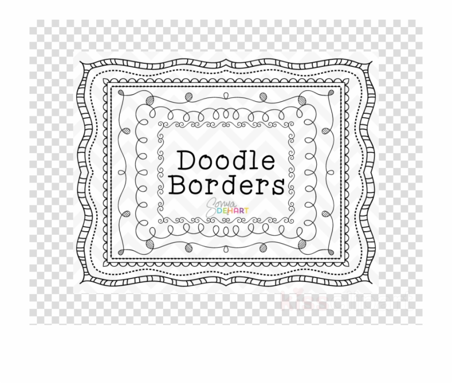 Borders Doodle Free Clipart Borders And Frames Clip.