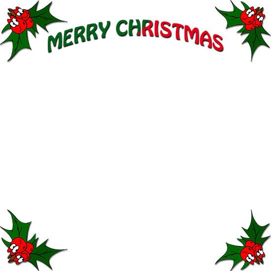 Free Christmas Borders.