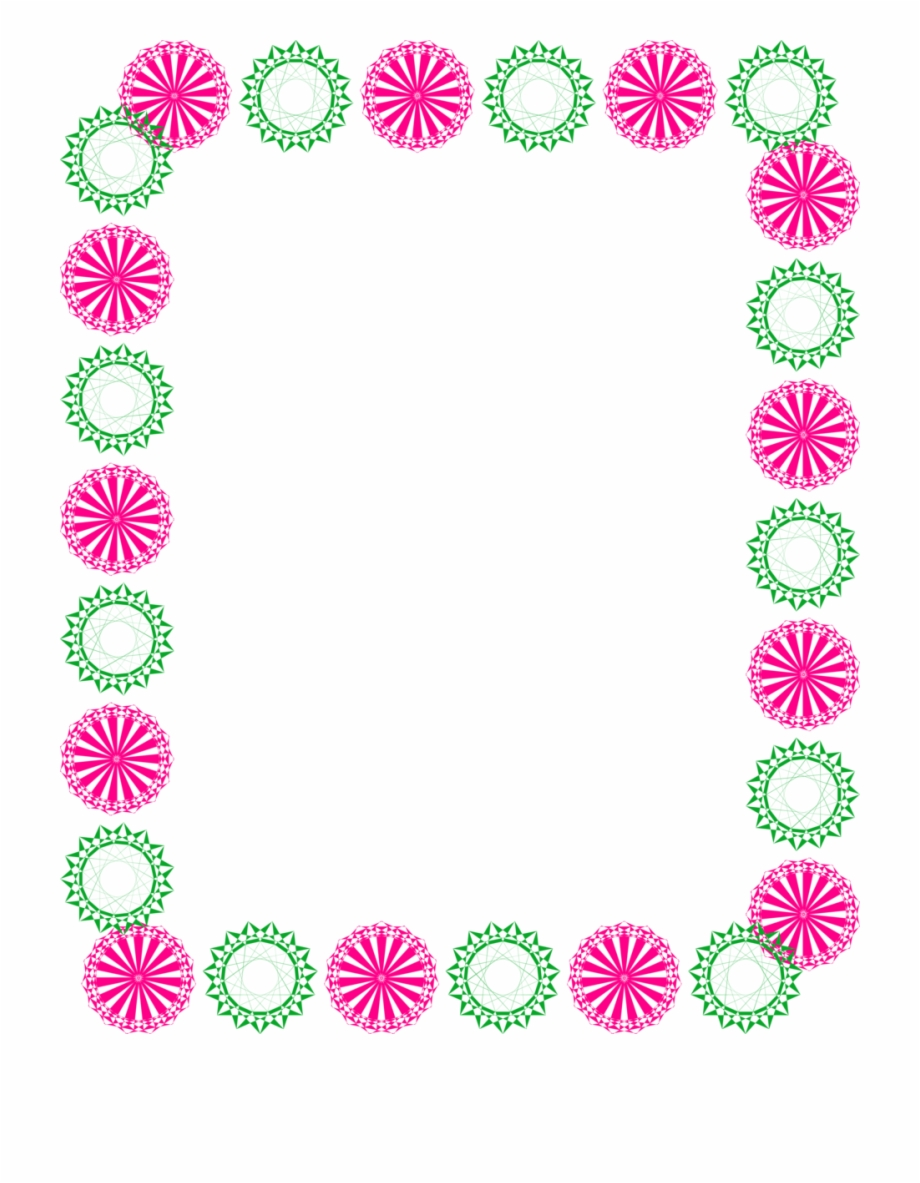 Pink Clipart Border.