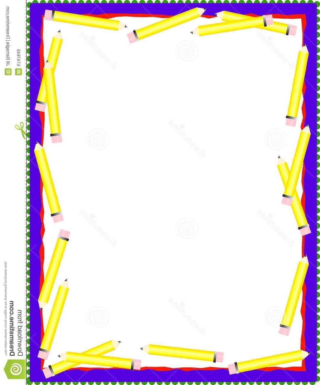 Best Teacher Clipart Borders Drawing.