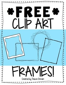Free Frames & Borders Clip Art For Commercial Use Vol 1.