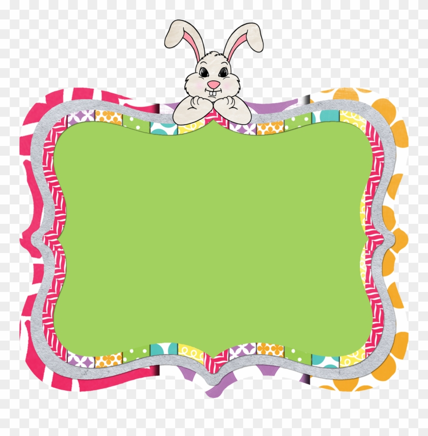 Free Clip Art Text Frames By The 3am Teacher Easter.