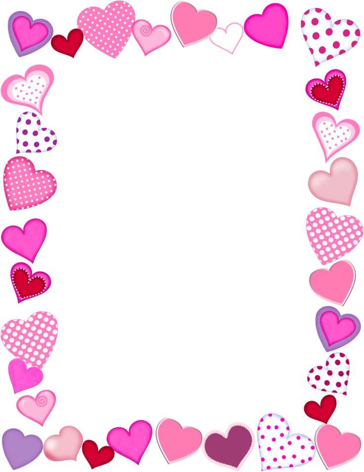 35+ Valentines Day Borders Clip Art.
