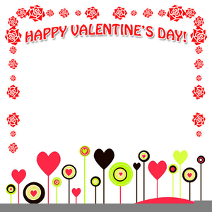 Valentine Day Clipart Borders.