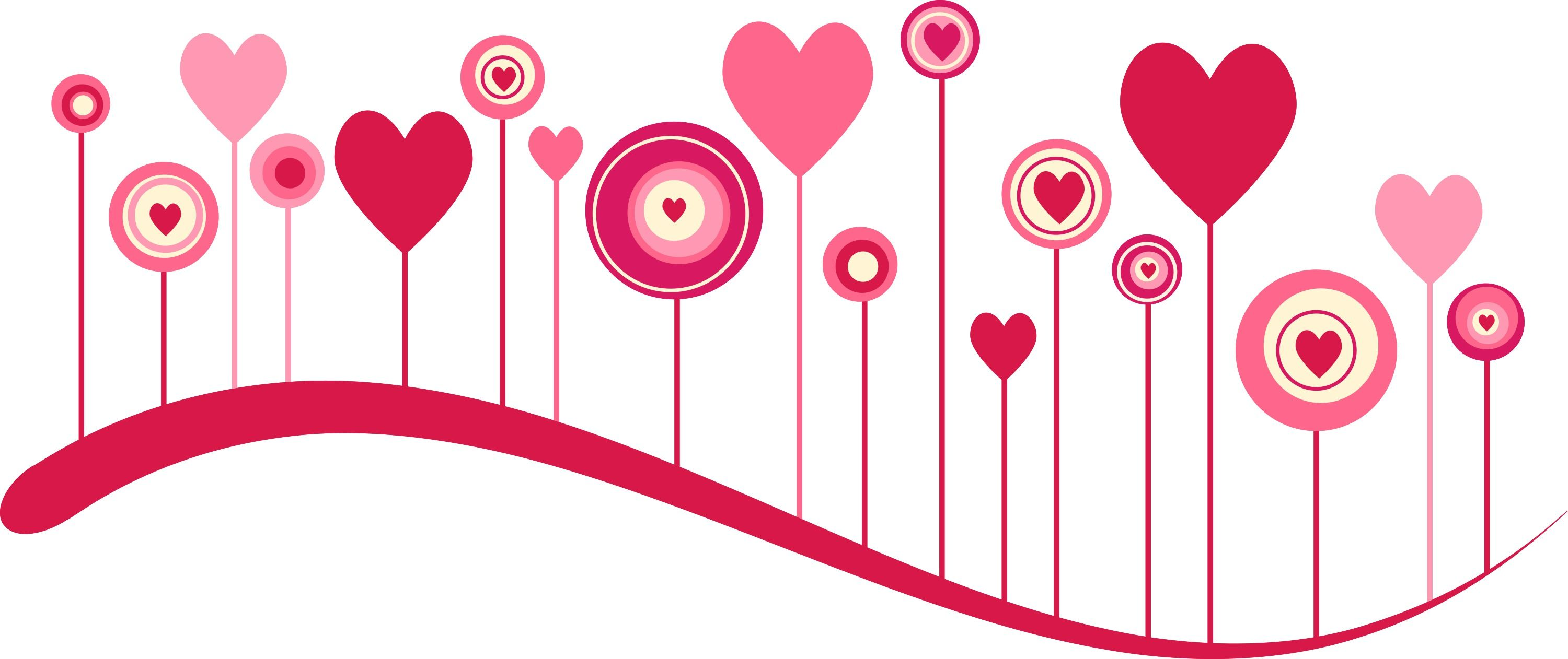 Images For > Pink Heart Border.