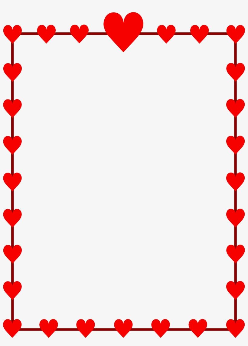 Valentine Clip Art Border.