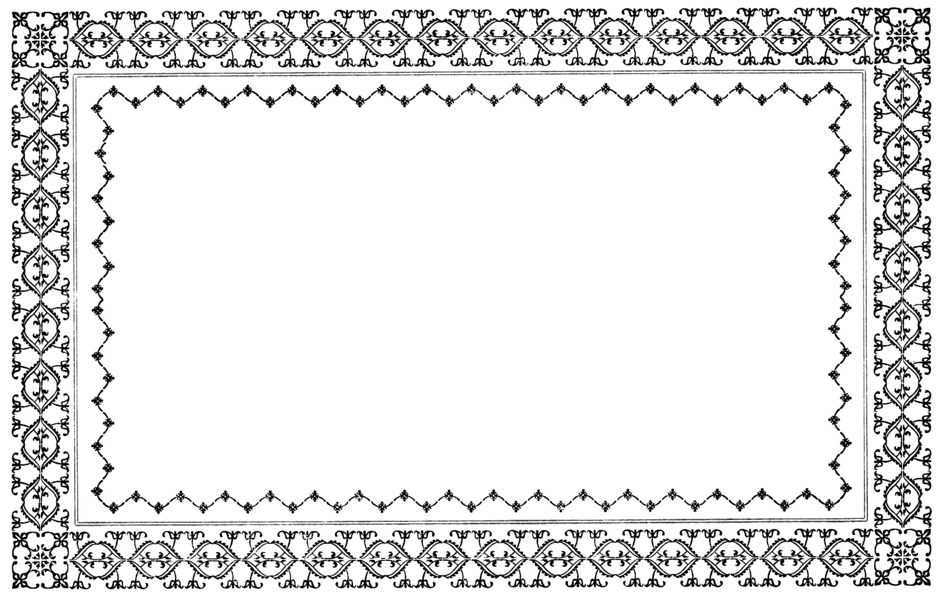 Clipart borders free download 8 » Clipart Station.