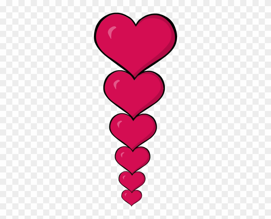 Free Valentine Day Border Clipart Image.