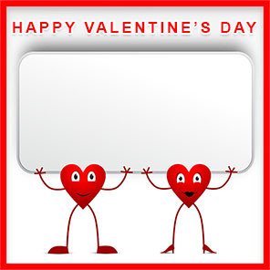 Free Valentine's Day Borders.