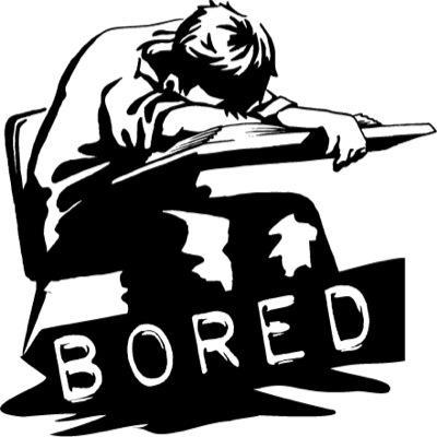 Bored Clipart.