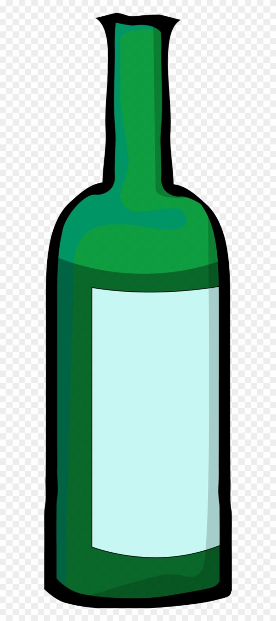 Bottle Clipart Green Bottle.
