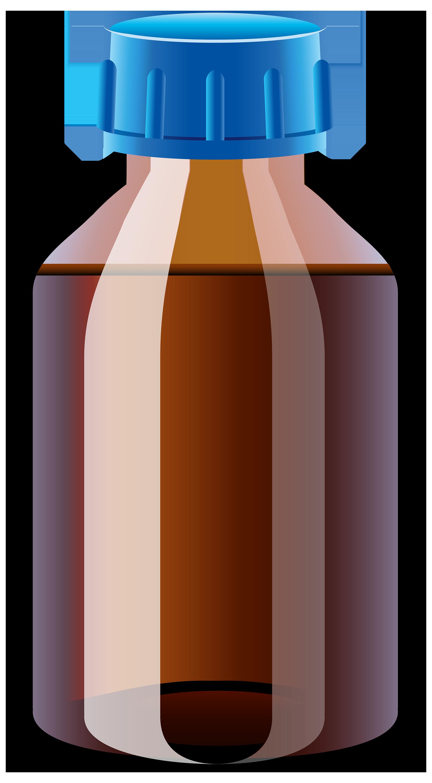 Medicine Bottle PNG Clipart.