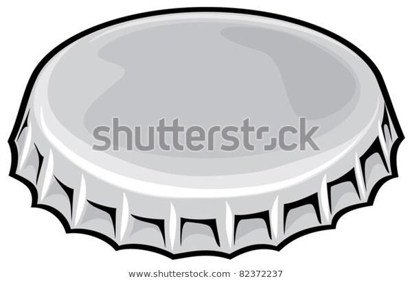 Bottle Cap Stock Vector (Royalty Free) 82372237.