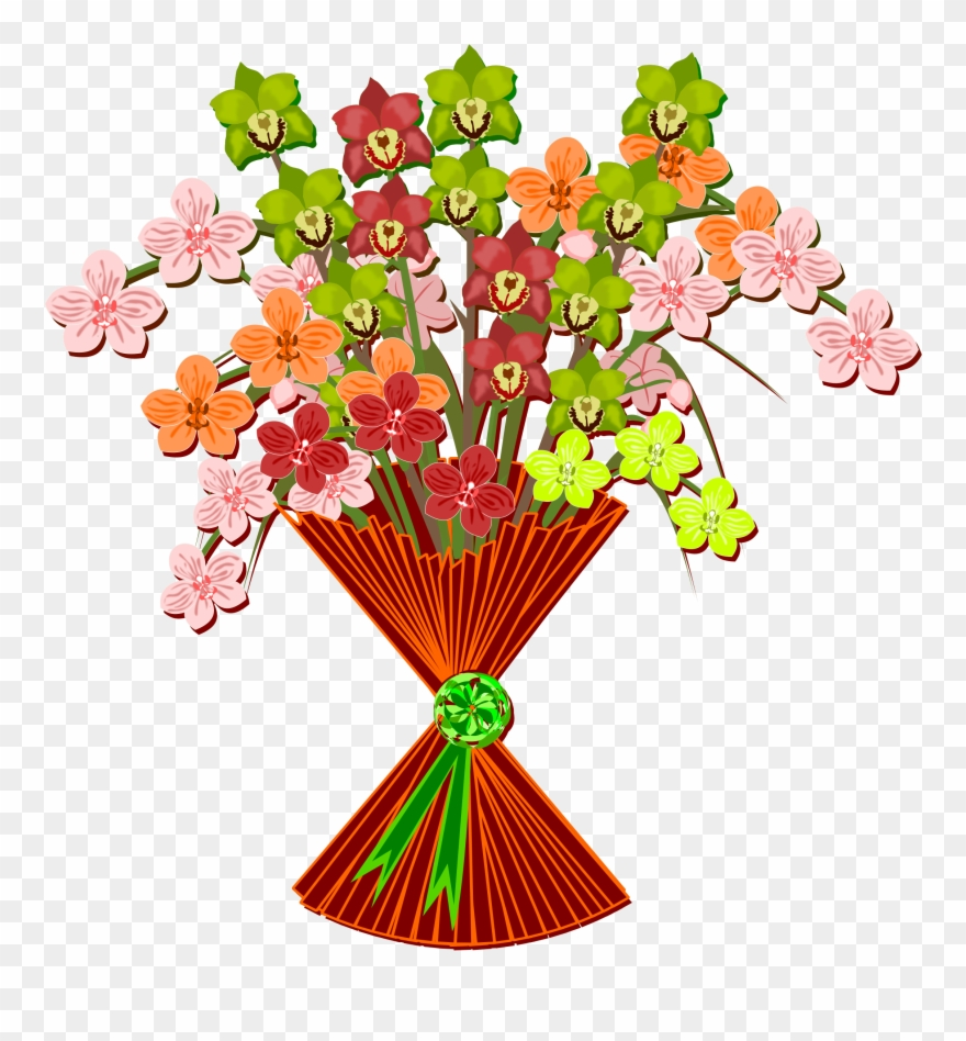 Mother's Day Clipart Bouquet.