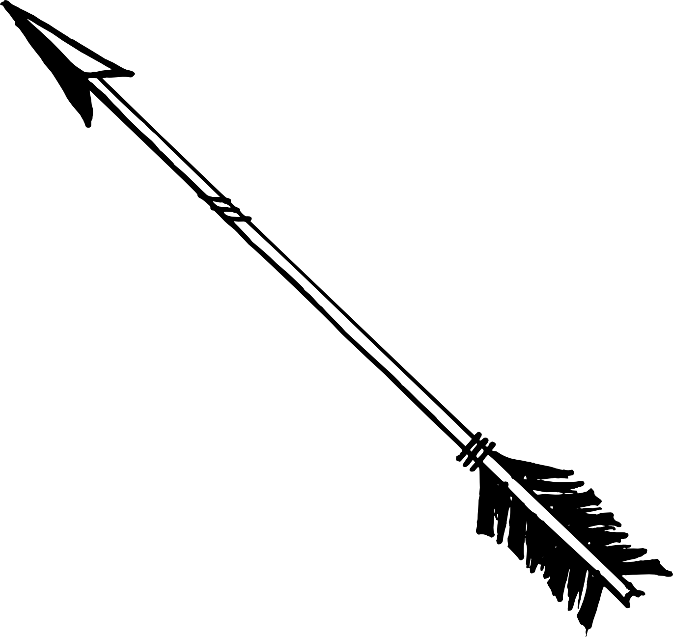 Bow Arrow Vector Png #44420.