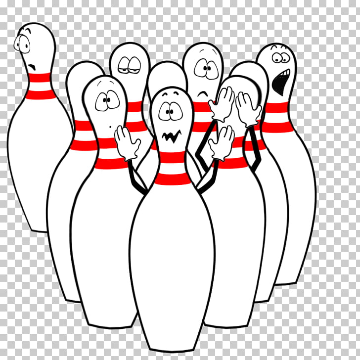 Bowling pin , Funny Bowling s, white bowling pins PNG clipart.