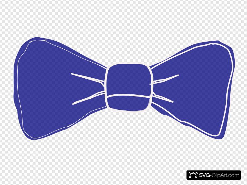 Bowtie Periwinkle Clip art, Icon and SVG.