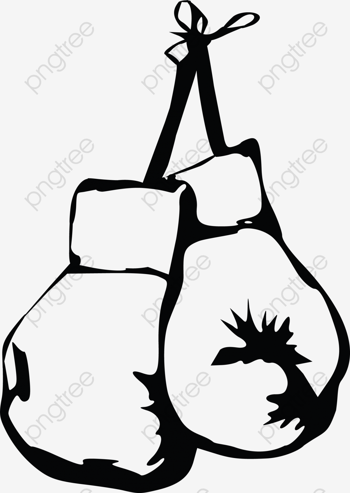 Boxer Gloves, Gloves Clipart, Boxing Match, Fighting Game PNG.