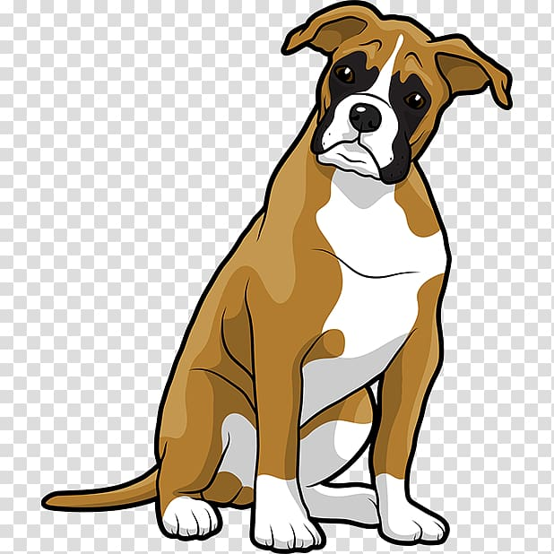Boxer Puppy Bulldog , puppy transparent background PNG clipart.