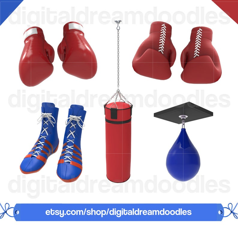 Boxing Clipart, Boxing Clip Art, Boxing Graphic, Boxer Image, Boxing  Picture, Boxing Glove Scrapbook, Punching Bag Picture, Digital Download.