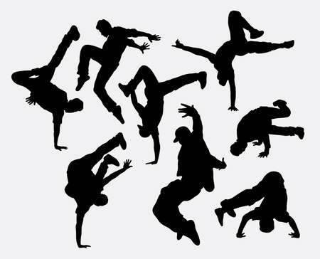 2,197 Breakdance Stock Vector Illustration And Royalty Free.