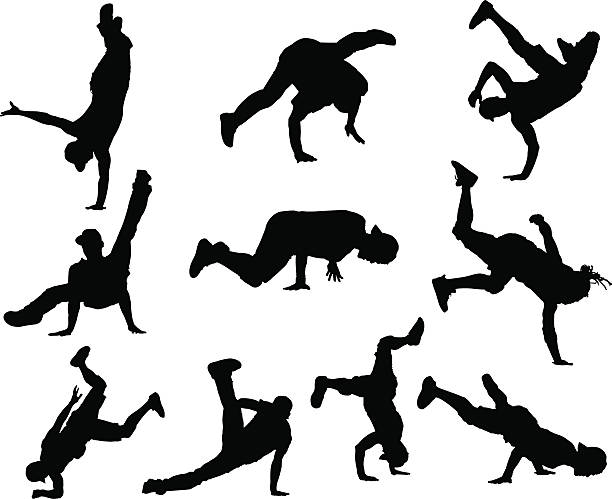 Best Breakdance Illustrations, Royalty.