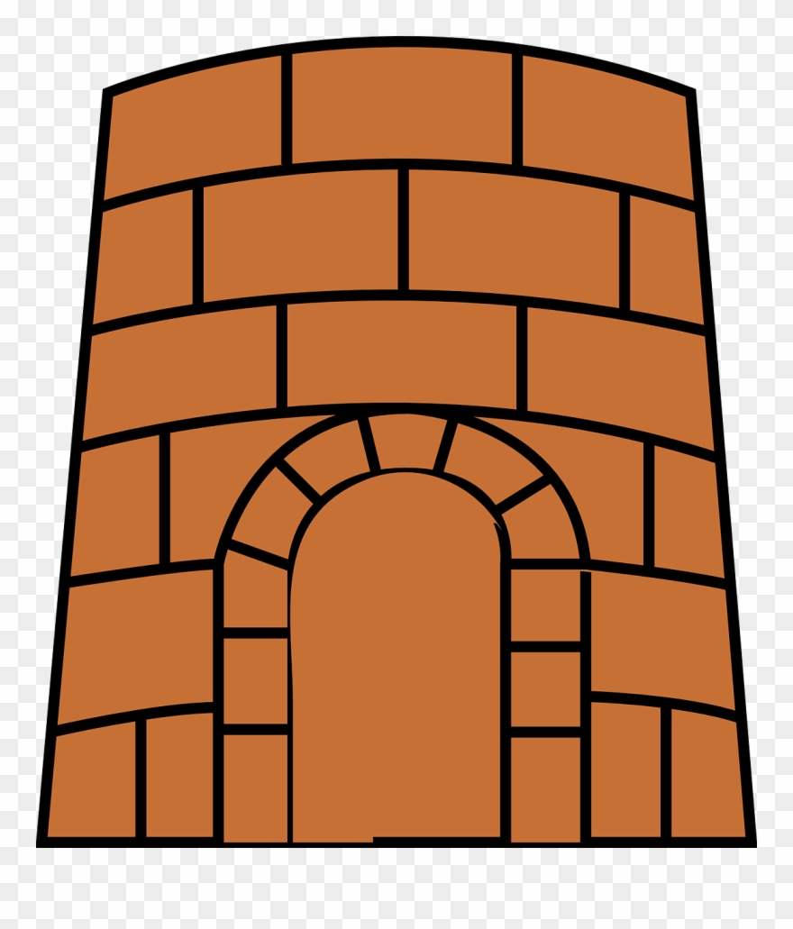 Fortress Clipart Brick.