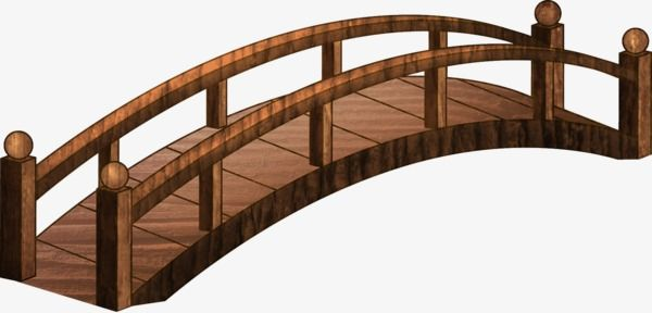 Wooden Bridge, Bridge Clipart, Bridge, Deck PNG Transparent Image.