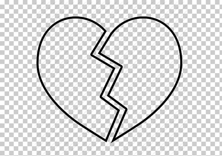Broken heart Coloring book Drawing , Heart Halves s PNG clipart.