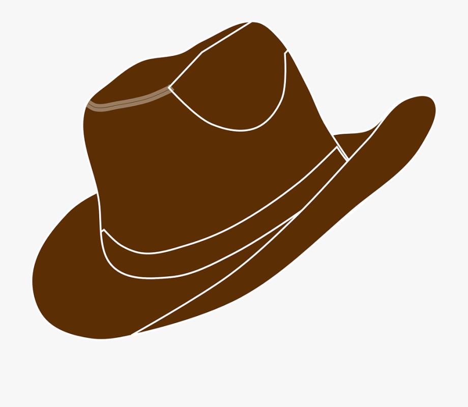 Cowgirl Clipart Brown Cowboy Boot.