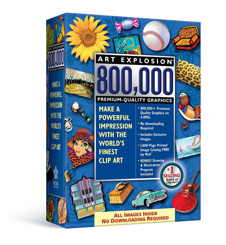 Amazon.com: Art Explosion 800, 000.