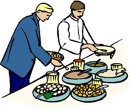 Buffet lunch clipart 2 » Clipart Portal.