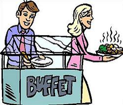 Dinner Buffet Clipart & Free Clip Art Images #16484.