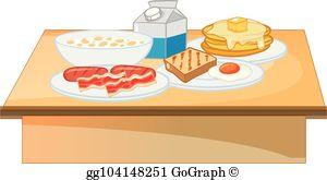 Breakfast Buffet Clip Art.