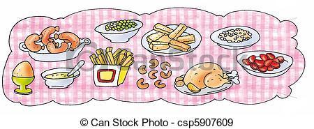 Clipart buffet table 4 » Clipart Portal.