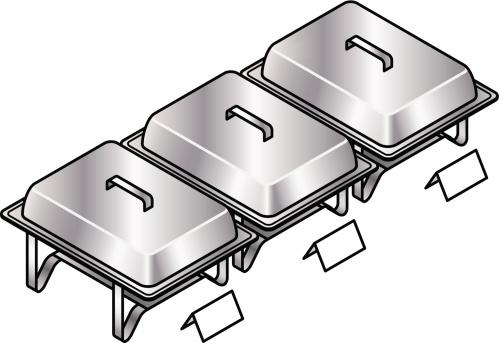 Buffet Food Cliparts.