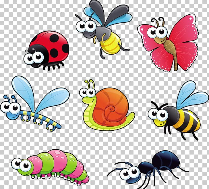 Insect Cartoon PNG, Clipart, Animal Figure, Animals, Artwork, Bugs.
