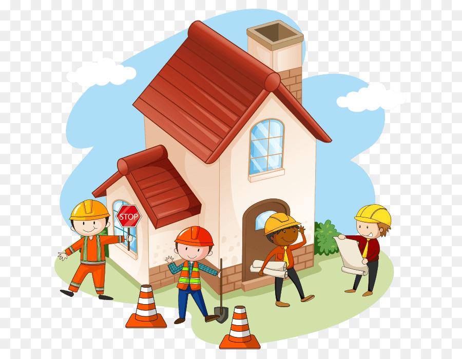 Building Cartoon png download.