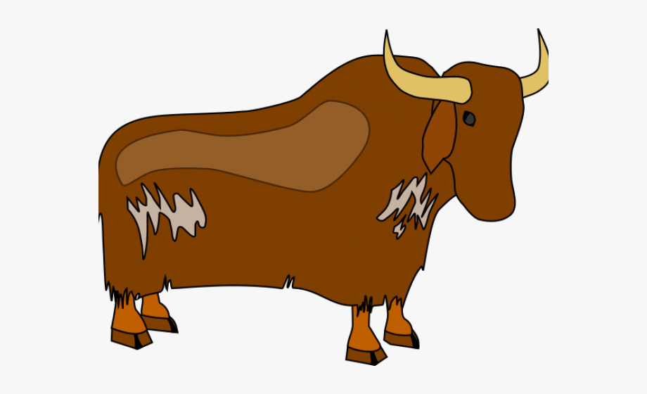 Longhorn Cattle Clipart Svg.