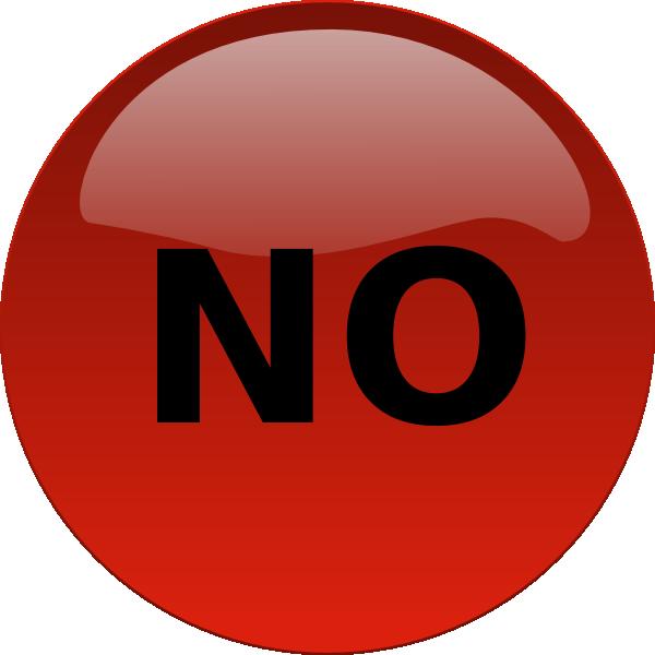 No Button Clip Art at Clker.com.