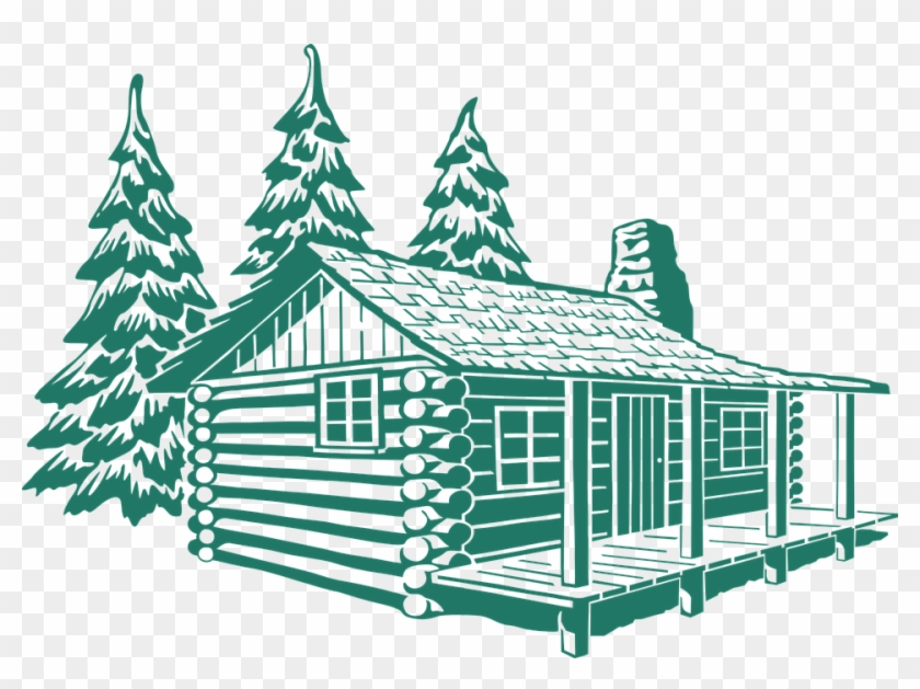 Hut Clipart Colonial House.
